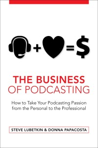Business of Podcasting book-cover